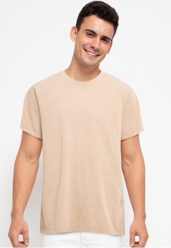 Billabong beige Premium Wave Wash Short Sleeve Tee FD533AA825B157GS_1