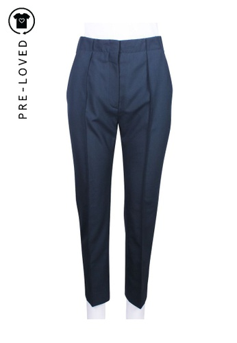 Balenciaga green Pre-Loved balenciaga Green Polyester Pants A41B0AA3B8961DGS_1