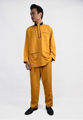 Denai Boutique gold Baju Melayu Salahuddin CBCF9AADC5D286GS_1