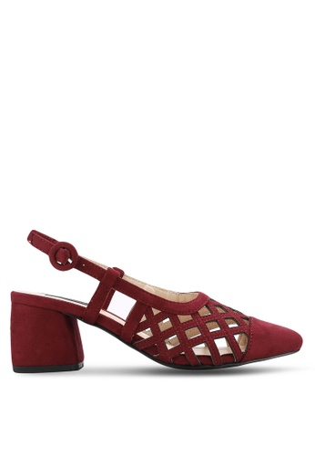 ZALORA red Slingback Mid Heels A5A50ZZ898D77AGS_1