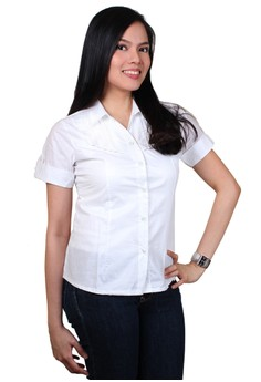 Iris Fashionable Ladies Work Shirts/Formal Shirt