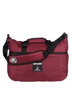 Image of OR-K689 Travel Bag Big Half Maroon