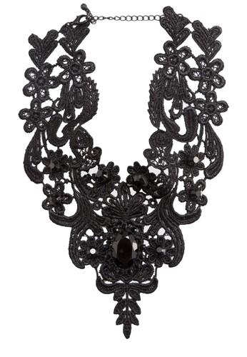 Taesprit官網volero 鉤花蕾絲項圈項鍊, 飾品配件, 飾品配件