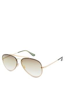 ece7efddf4238 Shop Ray-Ban Aviator Large Metal II RB3026 Sunglasses Online on ...