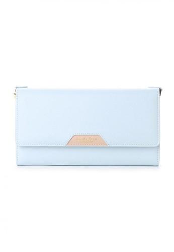 Samantha Thavasa blue Samantha Thavasa Petit Choice Audrey Card & Phone Mini Bag E9D3EAC258EE7DGS_1