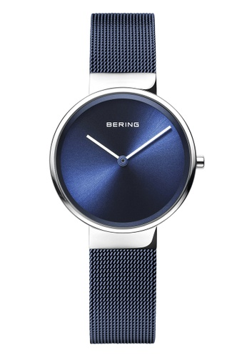 Bering blue and silver Classic 14531-307 Blue 31 mm Women's Watch B8AF0AC17EE788GS_1