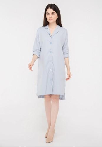 madeleine grey Lucia Dress Grey C4C1BAA3D0B87EGS_1