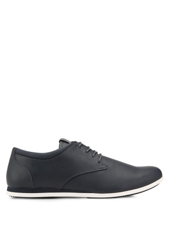 ALDO blue Aauwen Derby Shoes AL087SH0RLLNMY_1
