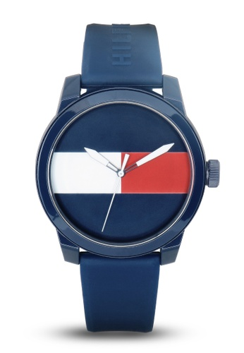 Tommy Hilfiger Watches blue Men's Silicon Watch TO959AC85LXMPH_1