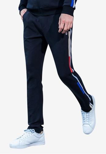 11f99f8d6749 Buy FILA White Line Knit Pants   ZALORA HK