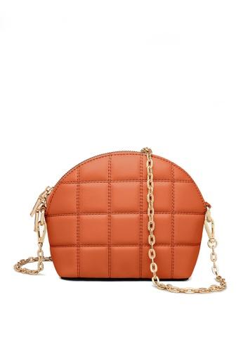 Twenty Eight Shoes orange VANSA Fashion Lingge Chain Crossbody Bag VBW-Cb4028 1A569AC0EA9171GS_1