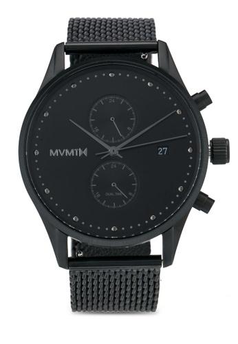 MVMT black MVMT Voyager Watch - Slate MV187AC0SZRAMY_1