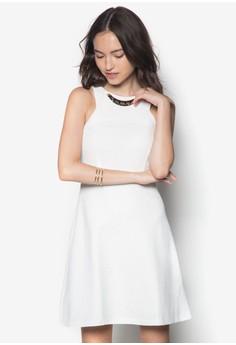 Embellished Cut In Dress