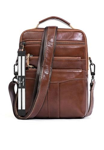 Twenty Eight Shoes Handmade Vintage Leather Sling Bag QYE6508 5271BACC073FDEGS_1