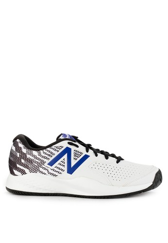 New Balance white and multi 696 V3 B0C8ASHEC37D27GS_1