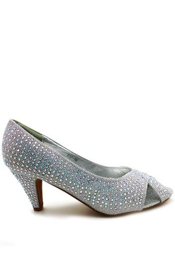 ED Swarovski Heels ED037-10 Silver