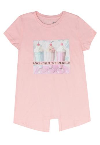 FOX Kids & Baby pink Kids Girl Short Sleeves Printed Tee AC8B3KA399FAF7GS_1