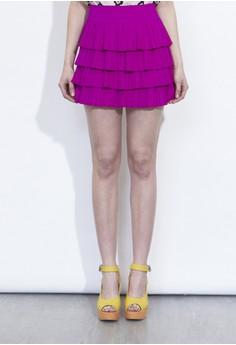 蓬蓬式短裙
