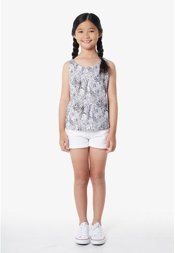Gen Woo black Animal Print Vest By Gen Woo 1BAFBKA0156041GS_1