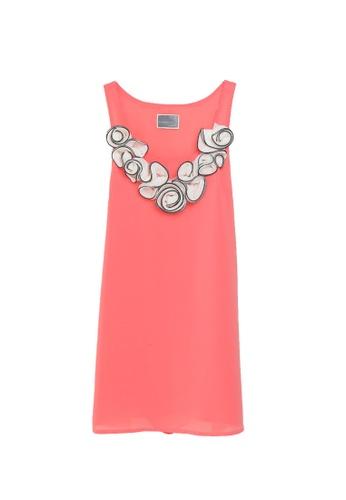 Sunnydaysweety pink Sleeveless Ruffle Flower One Piece Dress K200504010PI C6D7EAA9381E0AGS_1