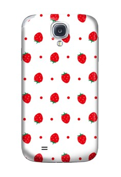 Little Strawberries Glossy Hard Case for Samsung Galaxy S4