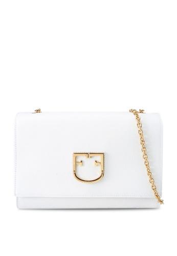 Furla white Viva Pochette Crossbody Bag 3F16CACEDA155DGS_1