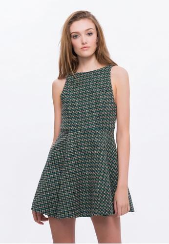 Alpha Style green and multi Adia Dress AL461AA0FVCBSG_1