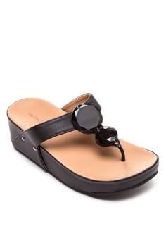 Gia Wedge Slides
