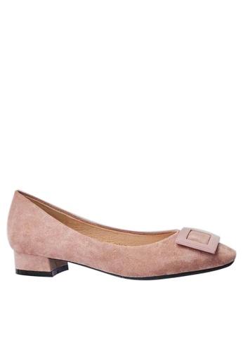 Twenty Eight Shoes Square Buckle Pumps 1205-15 8A1CDSHB532D10GS_1