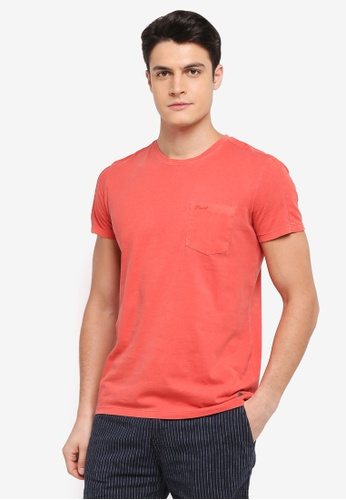 ESPRIT red Short Sleeve T-Shirt E3AF2AAA3B6A3FGS_1