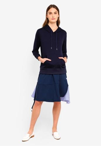 Haute Kelly blue Bon-Hwa Dress 03C78AA2DA463FGS_1