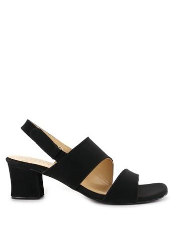 Totally black and multi Chunky Heels Elvi 4 1B725SH12810ADGS_1