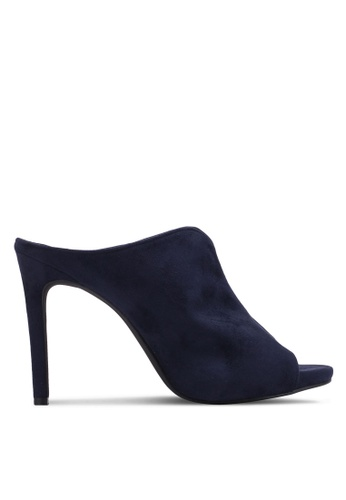Christy Ng navy Urban Navy Blue Mules CH330SH0RXOVMY_1