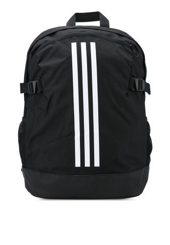 adidas black adidas 3 Stripes Power Backpack Medium AD372AC77EVAMY_1