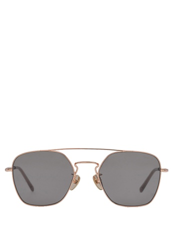 agnès b. black agnès b. Metal Sunglasses AB10025 Steve 04922GLB68AC85GS_1