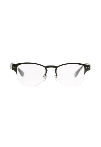 A Bathing Ape black Designer Optical Frames AB029AC18ANPSG_1