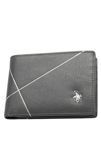 Swiss Polo grey Swiss Polo Bi-Fold Rfid Blocking Wallet DDFBBAC90B84B1GS_1