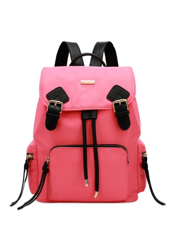 Swiss Polo pink Top Flap Backpack 04589ACF807202GS_1