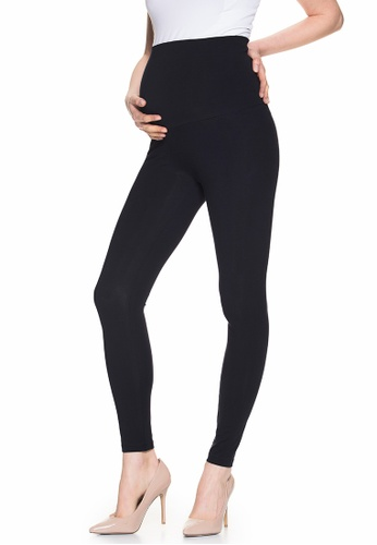 Mayarya black Over Belly Maternity Leggings 39B8FAAD8F6D82GS_1