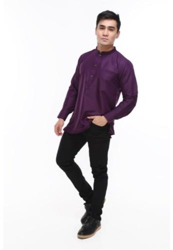 Amar Amran purple Kurta Al Hazim 2.0 B69F1AACCCD253GS_1