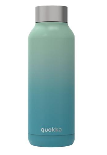 QUOKKA QUOKKA STAINLESS STEEL BOTTLE SOLID SEAFOAM 510 ML 83111AC66B5403GS_1