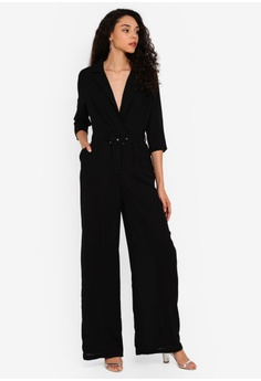 82bf32e8 9% OFF MISSGUIDED Wide Leg Blazer Style Jumpsuit S$ 74.90 NOW S$ 67.90  Sizes 6 8 10 12 14 · MISSGUIDED black Cross Back Maxi Dress  2DC75AABE591ACGS_1