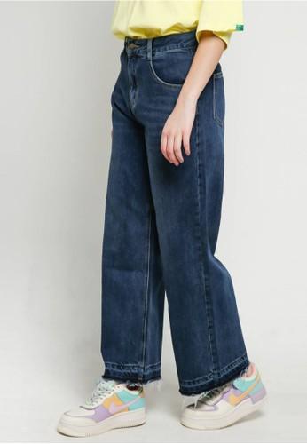 BLYTHÉ blue 6221-1 Mom Jeans Dark Wash Denim EC15BAAE3E589BGS_1