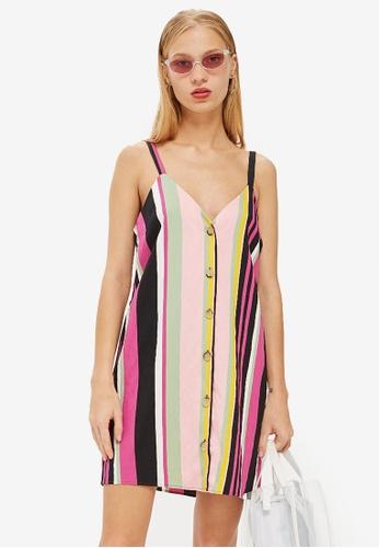 0f69d9673f4c Buy TOPSHOP Petite Stripe Mini Dress Online on ZALORA Singapore