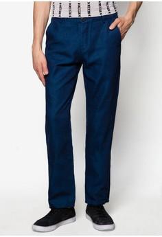 Two Tone Denim Slim Fit Pants
