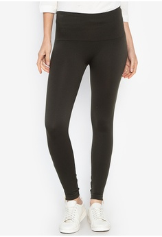 dff94ae52cc Spanx green Look At Me Now Seamless Side Zip Leggings DC4FEAABC58BC0GS 1