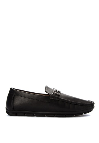 H2Ocean black Mens Casual Loafers H2527SH0J9TOPH_1