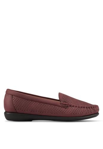 Noveni red Noveni Comfort Loafers NO978SH0S9QYMY_1
