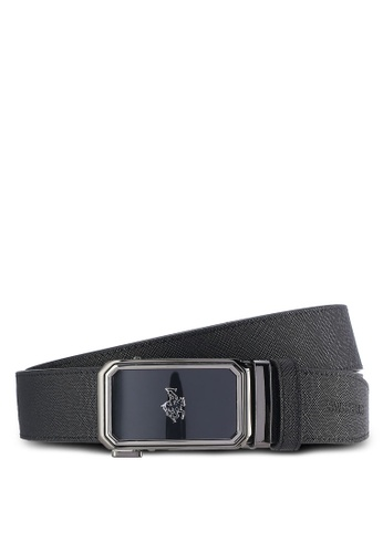 Swiss Polo black Swiss Polo 35mm Automatic Belt SW912AC33PHYMY_1