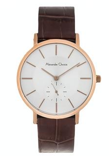 Alexandre Christie Jam Tangan Pria - Brown Rosegold White - Leather Strap -  8575 MSLRGSL 903A6AC8D18E3BGS 1 419a3ac500